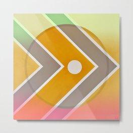 Fish - color graphic Metal Print