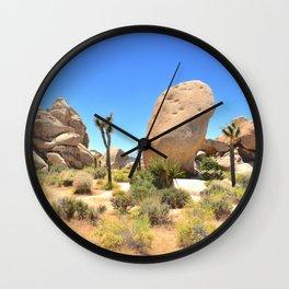 Jumbo Rocks Wall Clock