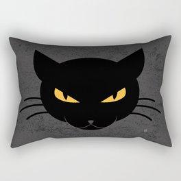 Evil Kitty Rectangular Pillow