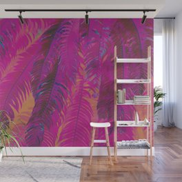 Frolic In The Fronds Wall Mural