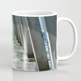 Under The Fishing Pier Coffee Mug