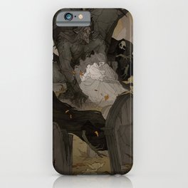 Gargoyle Graveyard iPhone Case