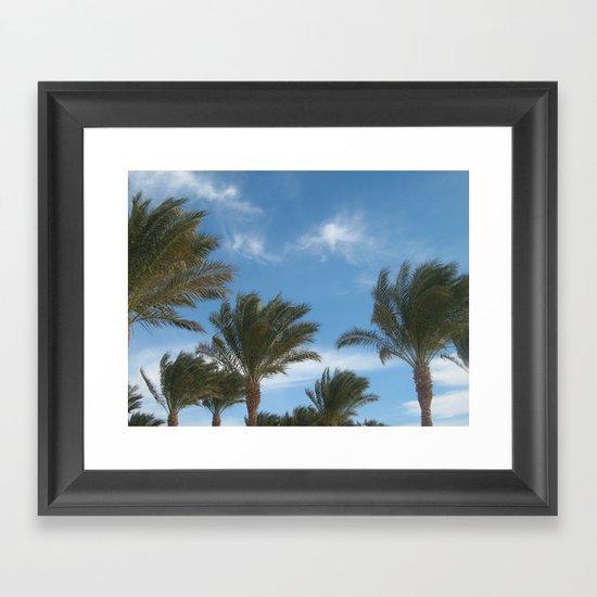 N.A. Palm 1 Framed Art Print