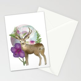 The Mule Deer  Stationery Cards
