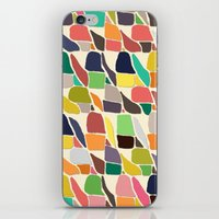 ikat iPhone & iPod Skins featuring ikat weave by Sharon Turner