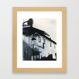 postindustrial Framed Art Print