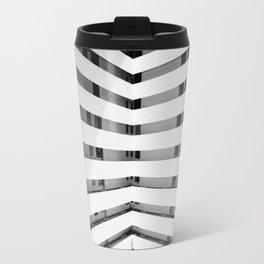 Folded Lines Travel Mug