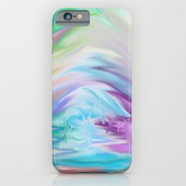 Rainbow After The Storm iPhone Case
