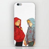 johannathemad iPhone & iPod Skins featuring hoodies by JohannaTheMad