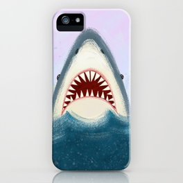 I Love Sharks iPhone Case