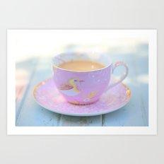 Coffee Magic Art Print