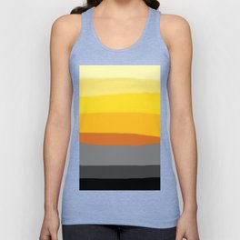 Lemon Sunset Unisex Tank Top