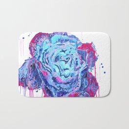 Weeping Blue Rose Bath Mat