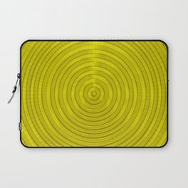 Gold Sectors Laptop Sleeve