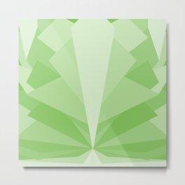 Angular Bloomer - The Vermarine Metal Print