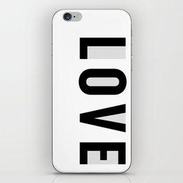 Rx LOVE in GREY iPhone Skin