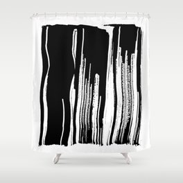 Closed No. 4 Shower Curtain