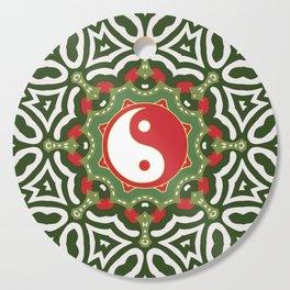 Holiday Festive Balance Yin Yang Cutting Board