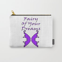Fairy Of Your Dreams Purple Carry-All Pouch