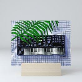 Synth Pool Mini Art Print