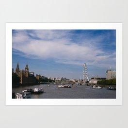 london_7 Art Print
