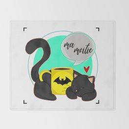 Ma Moitie (Jane + Maximoff) Throw Blanket