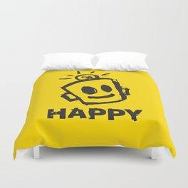 HAPPY  Duvet Cover