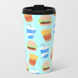 Burgers & Fries Metal Travel Mug