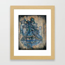 Twist of Kain Framed Art Print