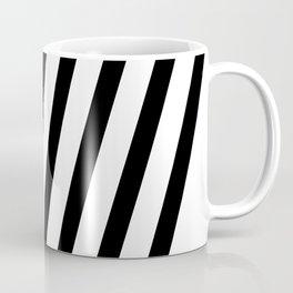 Black White Stripes #society6 #stylish #homedecor #style #buyart #cool #art #abstract Coffee Mug