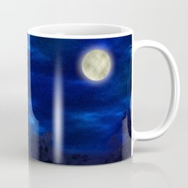 Boga Lake, Bandarban || Bangladesh (Moonlight) Coffee Mug