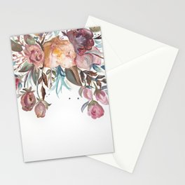 Floral Watercolor #1 Stationery Cards