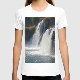 Waterfalls KRK, Croatia T-shirt