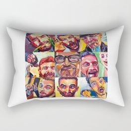 Silly Selfie Project Rectangular Pillow