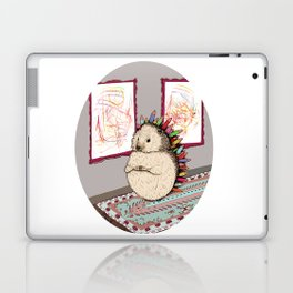 Hedgehog Artist Laptop & iPad Skin