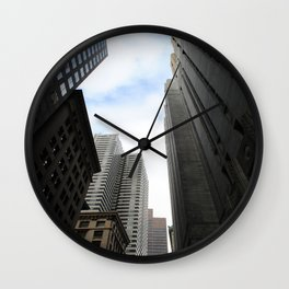 Urban Gorge Wall Clock