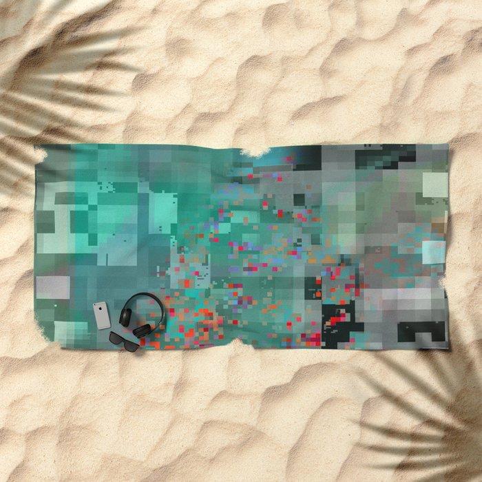 in the air 1 aircity Beach Towel