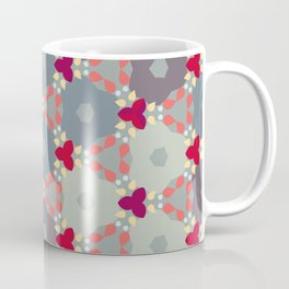 Kaleidoscope Flowers Autumn Coffee Mug