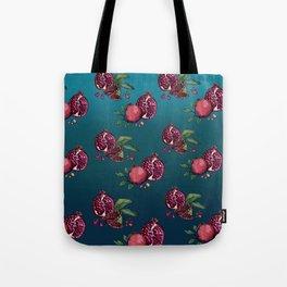 Pomegranate Parade Tote Bag
