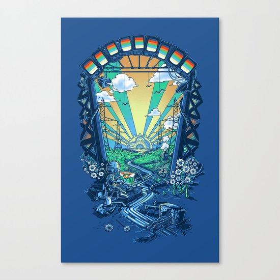 The Robot's Renaissance Canvas Print