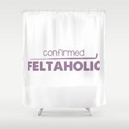 Confirmed Feltaholic - Purple Shower Curtain
