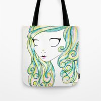 fairy Tote Bags featuring Fairy by Caitlin Roberts