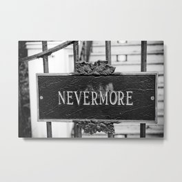Signs: Nevermore Metal Print