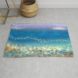 Abstract Seascape 03 wc Rug