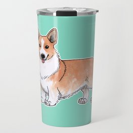 Pembroke Welsh Corgi dog Travel Mug
