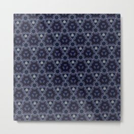 Blueish Metal Print