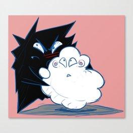 Wanda Happy Cloud and Ivan 03 Canvas Print