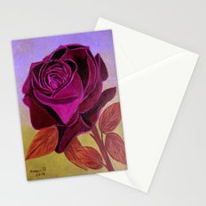 Mother's Day Rose  Stationery Cards