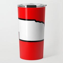 Nebraska Travel Mug