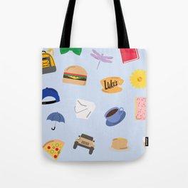 Gilmore Girls World Tote Bag